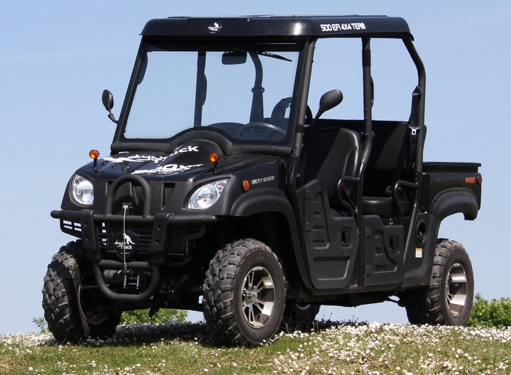 BOOXT DYNOTRUCK-500_4PLACES<br>SSV 500 utilitaire 4x4 injection UTV DynoTruck homologu� 4 places<br>9990� TTC (TVA recup�rable)