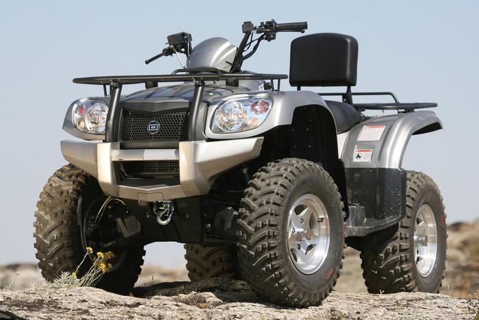 BOOXT GOES-520-MAX<br>Quad rando utilitaire homologué route 500 version max<br>6990€ TTC