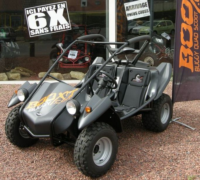 BOOXT SECMA-FUN-BUGGY-340<br>Buggy SECMA FUN BUGGY 340 homologu� - Fabrication Fran�aise - 5990� TTC
